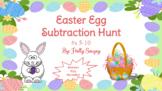 Easter Egg Subtraction Hunt #s 5-10 (Digital/Drag and Drop)
