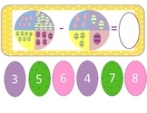 Easter Egg Subtraction Spinners