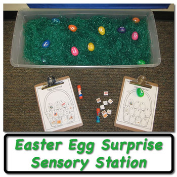 Easter Egg Surprise - Sensory Station