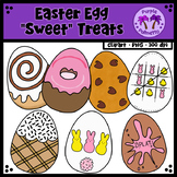 "Easter Egg ""Sweet"" Treats Clipart"