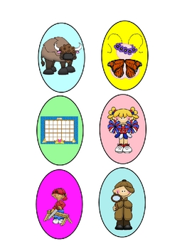 Easter Egg Syllable Sort Common Core