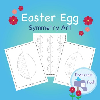 Easter Egg Symmetry Art