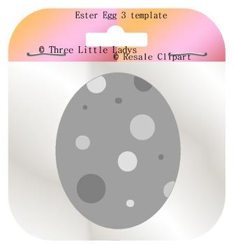 Easter Egg Template 3