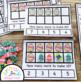 Easter Egg Ten Frame Task Cards Making Ten with Spring Friends