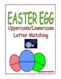 Easter Egg Uppercase Lowercase Letter Match