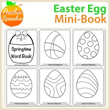 Easter Egg Word Book