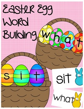 Easter Egg Word Building
