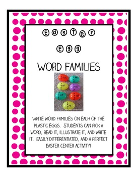 Easter Egg - Word Families