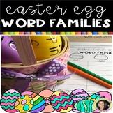Easter Egg Word Family Worksheet