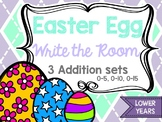 Easter Egg Write the Room - Addition