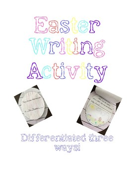 Easter Egg Writing Craft