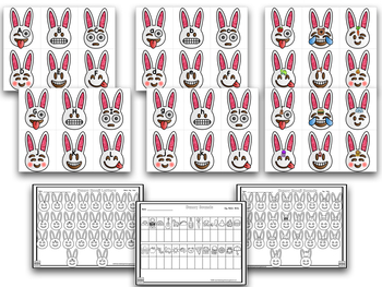 Easter Egg and Bunny Emoji Letters and Sounds