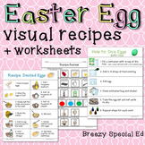 Dying Easter Eggs and MORE Visual Recipes for Special Education