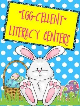 Easter Egg-celent Literacy Centers