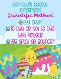 Easter Egg-cellent Science Experiments Scientific Method Egg Bounce Egg Drop