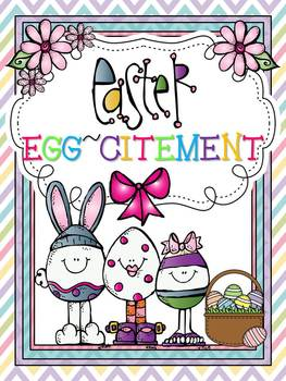 Easter Egg-citement {10 Literacy Centers}