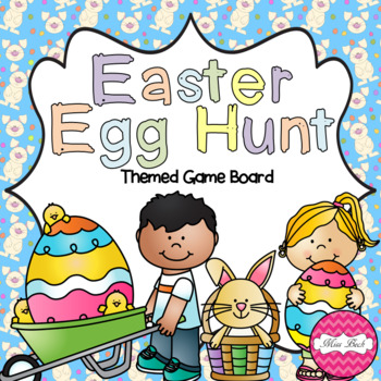 Easter Themed Game Board