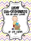 Easter Egg-stravaganza - Math and Literacy Activities