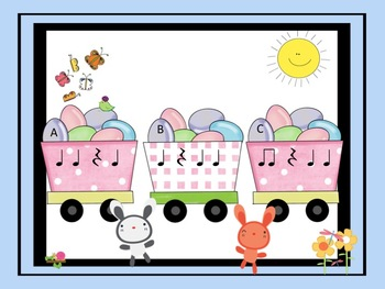Easter Eggspress - Take the Ta, Ti-Ti and Z Listening Challenge Train