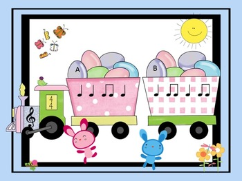 Easter Eggpress - Take the Ta and Ti-Ti Listening Challenge Train