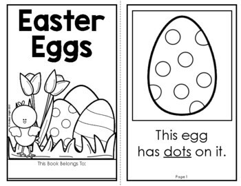Easter Eggs!  (A Holiday Book for Emergent Readers)