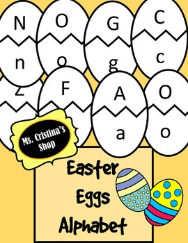Easter Eggs Alphabet