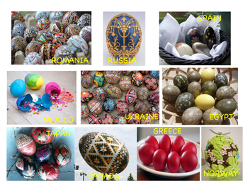 Easter Eggs Around The World