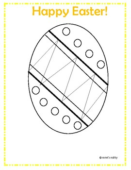 Easter Eggs & Basket Coloring Pages - FREE PRINTABLE