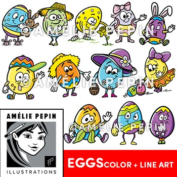 Easter Eggs Clip Art 2