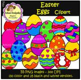 Easter Eggs - Clip Art (School Designhcf)