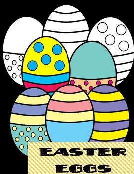 Easter Eggs Clip arts