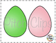 Easter Eggs Clipart 2 (Clip art) - Commercial Use, SMART OK!