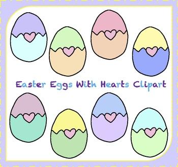 Easter Eggs Clipart / Easter Clipart