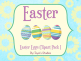 Easter Eggs Clipart Pack I