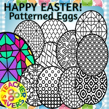 Easter Activities, Mindfulness, Coloring Clipart