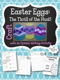 Easter Craft ~ Easter Eggs with Opinion Writing Resources
