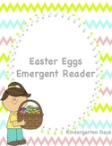 Easter Eggs Emergent Reader