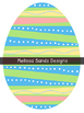 Easter Eggs {Graphics for Commercial Use}