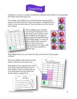 Easter Eggs Sort, Pattern, Graph
