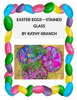 Easter Eggs--Stained Glass