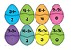 Easter Eggs Subtraction to 5 Puzzles