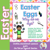 Easter Egg History Science Experiments Comprehension Text w/ Questions