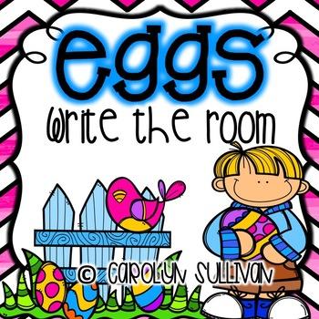 Easter Eggs Write the Room