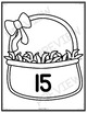 Number Sense Activity 0-20 Eggs in My Basket