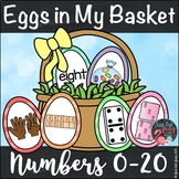 Number Sense Activity 0-20 Eggs in My Basket