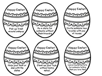 Easter Eggs of Kindness
