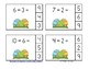 Easter Eggs-travaganza Subtraction Math Centers (Minuends to 10)