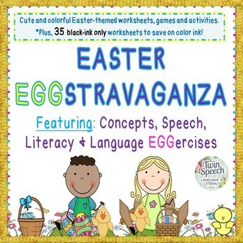 Easter Eggstravaganza: Concepts, Speech, Language, & Liter