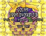"""Easter """"Egg""""travaganza {Math and Language Arts Centers}"""