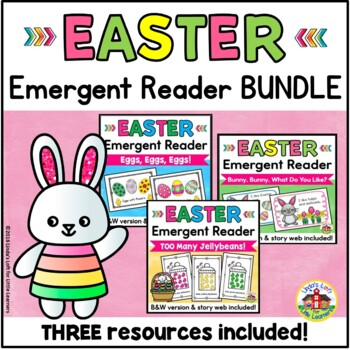 Easter Emergent Reader Bundle